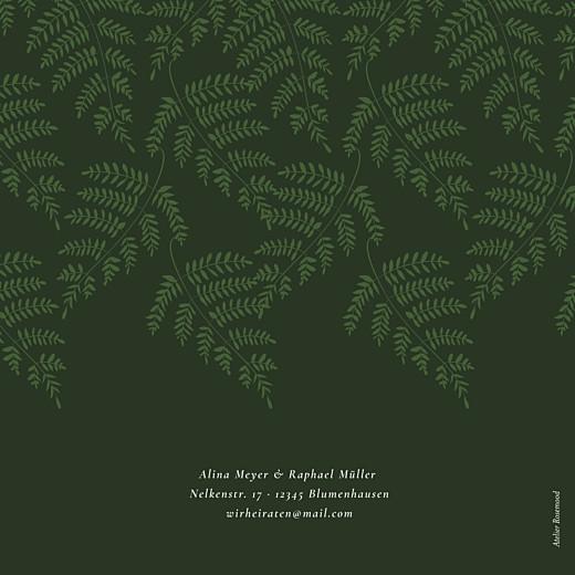 Hochzeitseinladungen Blättertanz (klappkarte) grün - Seite 4