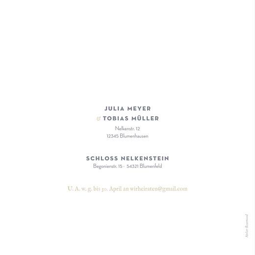 Hochzeitseinladungen Schleier grau - Seite 4