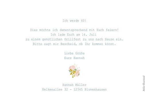 Geburtstagseinladungen Souvenir grün - Seite 2