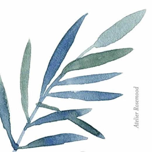 Anhänger Hochzeit Zweige aquarell blau - Seite 2