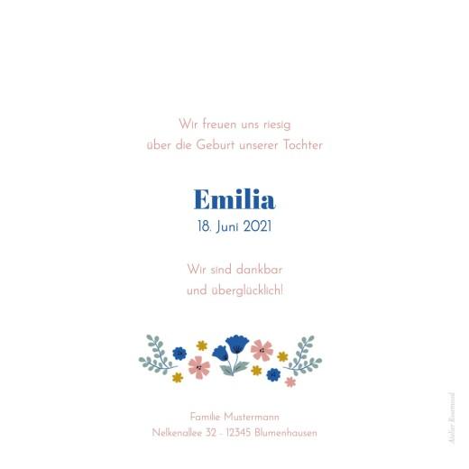 Geburtskarten Blumenbett frühling - Seite 2