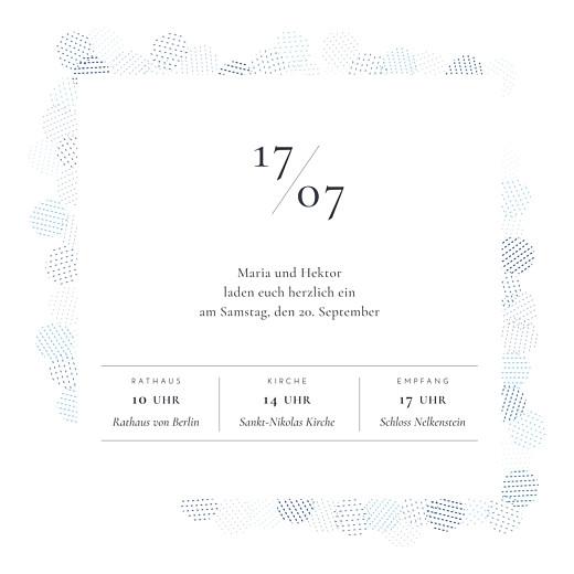 Hochzeitseinladungen Pailletten blau - Seite 3