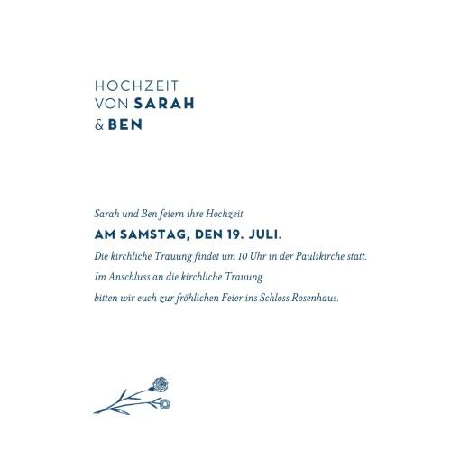 Hochzeitseinladungen Laure de sagazan (gold) blau - Seite 3