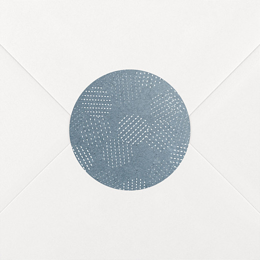 Aufkleber Hochzeit Pailletten sticker blau - Ansicht 2