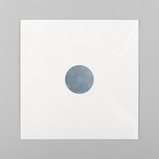 Aufkleber Hochzeit Pailletten sticker blau - Ansicht 1