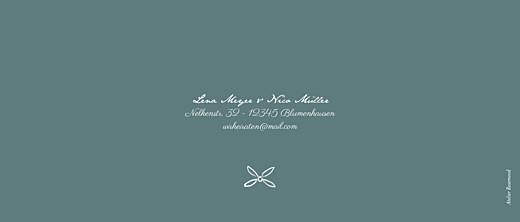 Hochzeitseinladungen Lyrik panorama grün - Seite 4