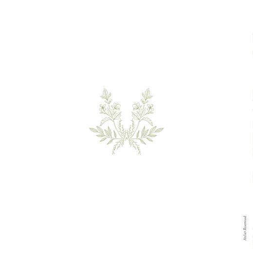 Hochzeitseinladungen Blütenspiegelung klappkarte grün - Seite 4