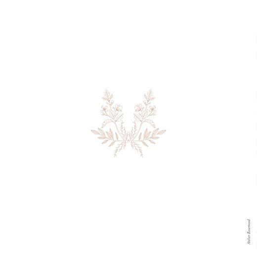 Hochzeitseinladungen Blütenspiegelung klappkarte rosa - Seite 4