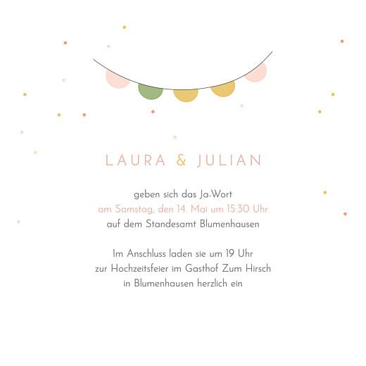 Hochzeitseinladungen Das brautpaar rosa - Seite 3