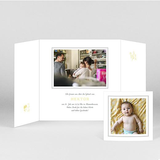 Geburtskarten Fabelhaft (duo) gelb - Ansicht 2