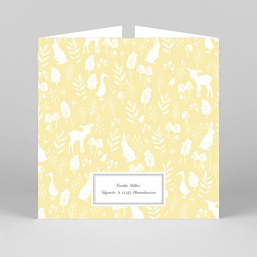 Geburtskarten Fabelhaft (duo) gelb - Ansicht 3
