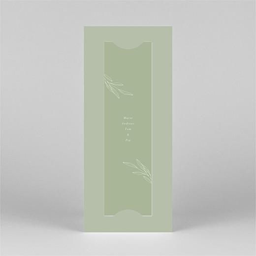 Geburtskarten Kleiner sprössling (fotostreifen) grün - Ansicht 3