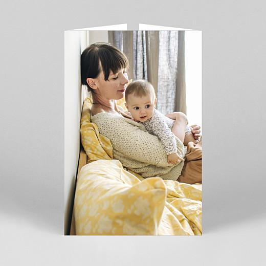 Geburtskarten Zeitgeist (duo hoch) weiß - Ansicht 3