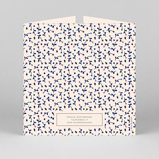 Geburtskarten Liberty beere (duo) blau - Ansicht 3