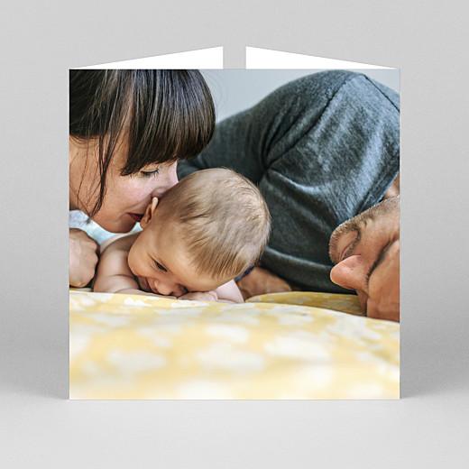 Geburtskarten Zeitgeist (duo) weiß - Ansicht 3