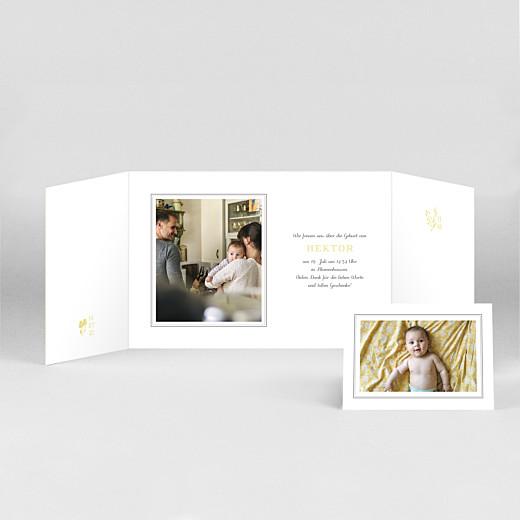 Geburtskarten Fabelhaft (duo hoch) gelb - Ansicht 2