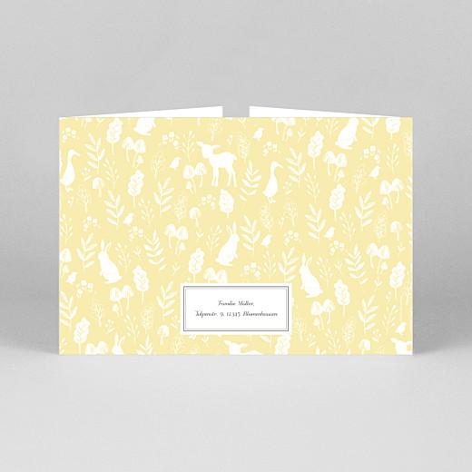 Geburtskarten Fabelhaft (duo hoch) gelb - Ansicht 3