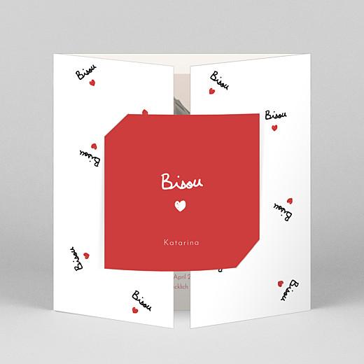 Geburtskarten Bisou by Mathilde Cabanas - Atelier Rosemood