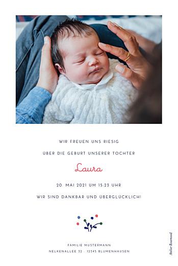 Geburtskarten Liberty beere blau - Seite 2