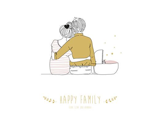 Poster klein Lovely family rosa - Seite 1