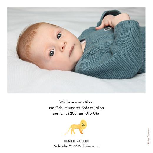 Geburtskarten Safari weiß - Seite 2