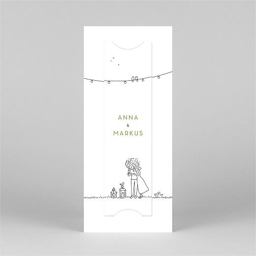 Hochzeitseinladungen Sommerhochzeit (fotostreifen) weiß - Ansicht 3