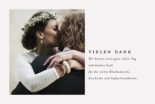 Dankeskarten Hochzeit Zarter ast 1 foto beige - Seite 3