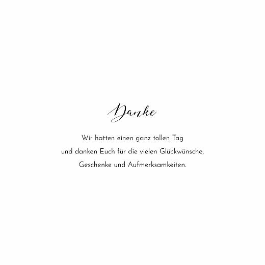 Dankeskarten Hochzeit Raffinesse (fotos) weiß - Seite 3