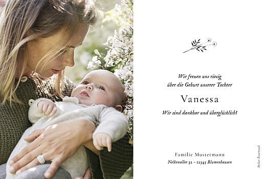 Geburtskarten Floral minimal (6 fotos) beige - Seite 2