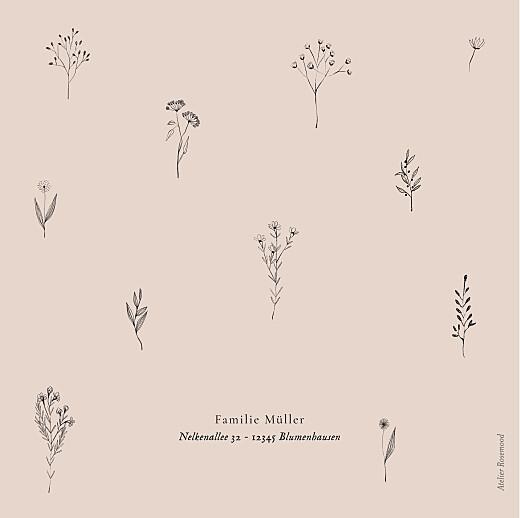 Geburtskarten Floral minimal rosa - Seite 4