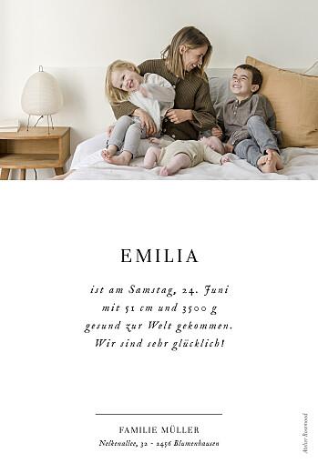Geburtskarten Sweet moments (hoch) weiß - Seite 2