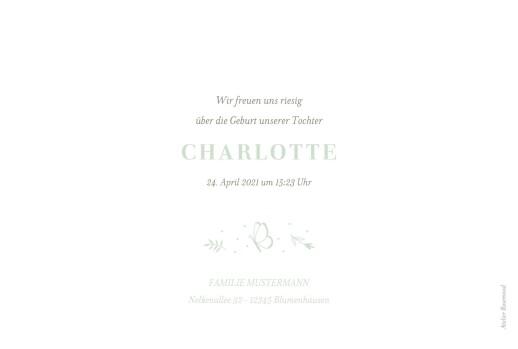Geburtskarten Eleganter schmetterling (3 fotos) grün - Seite 2