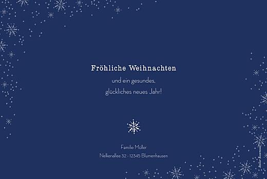 Weihnachtskarten Wintertage blau - Seite 2