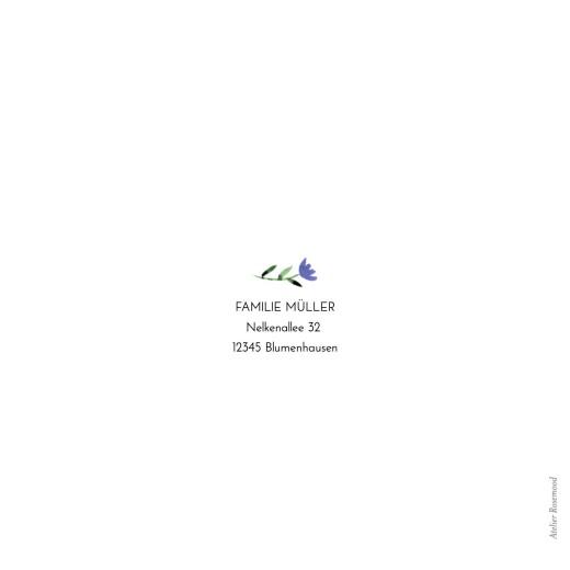 Geburtskarten Blumenalphabet weiß - Seite 4