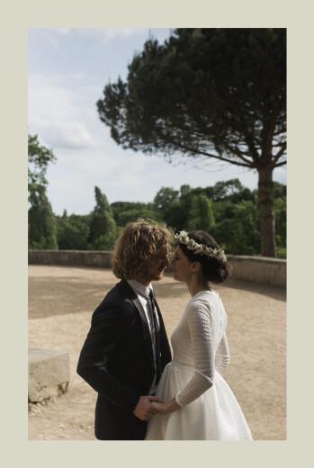 Dankeskarten Hochzeit Sommerbrise palme