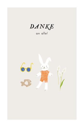 Dankeskarten Petit bateau x rosemood orange