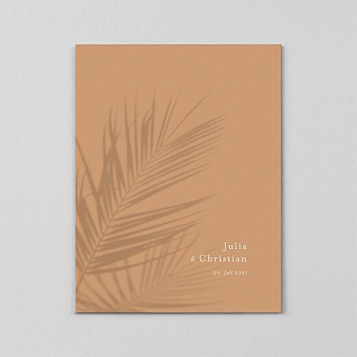 Hochzeitseinladungen Sommerbrise (transparentpapier) palme - Ansicht 2