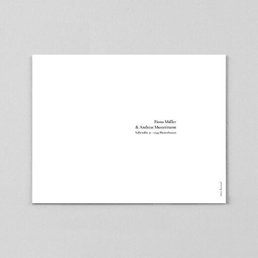 Hochzeitseinladungen Dezent (transparentpapier) weiß - Ansicht 3