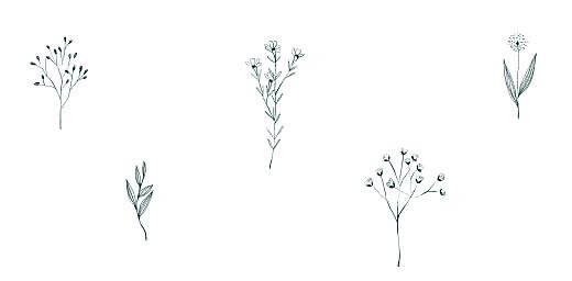 Platzkarte Floral minimal beige - Seite 2