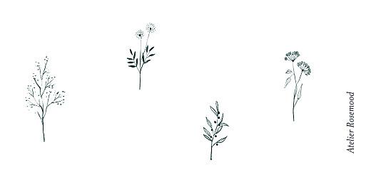 Platzkarte Floral minimal beige - Seite 3
