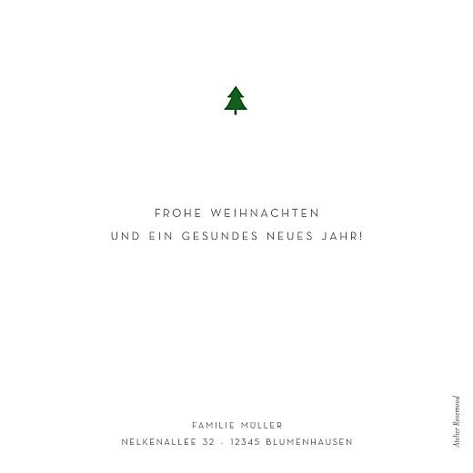 Weihnachtskarten Elegant tannenbaum weiß - Seite 2