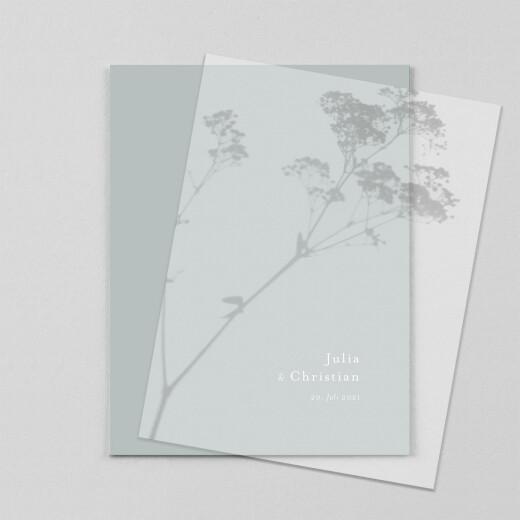 Hochzeitseinladungen Landluft (transparentpapier) gipskräuter - Ansicht 1
