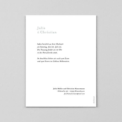 Hochzeitseinladungen Landluft (transparentpapier) gipskräuter - Ansicht 3