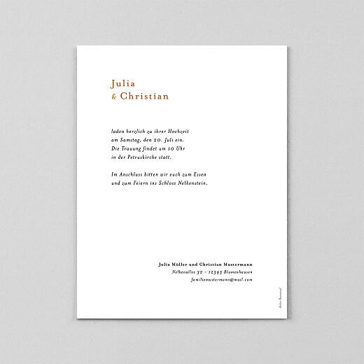 Hochzeitseinladungen Sommerbrise (transparentpapier) palme - Ansicht 3