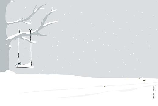 Weihnachtskarten Winter family (1 kind) 1 - Seite 4