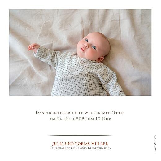Geburtskarten Schmuckstück weiß - Seite 2