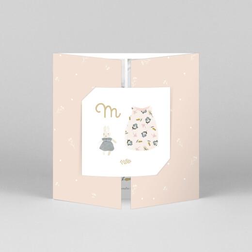 Geburtskarten Süße träume (duo) rosa - Ansicht 1