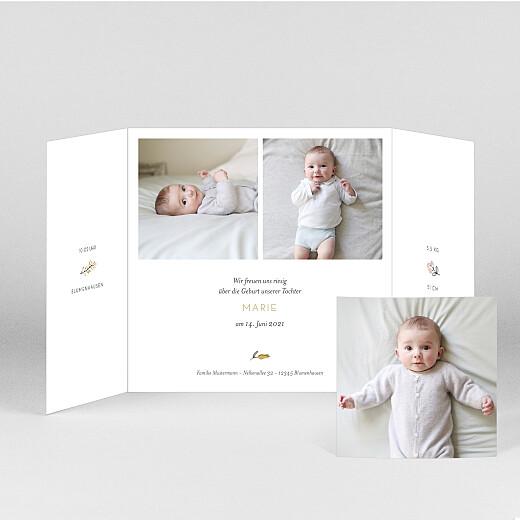 Geburtskarten Süße träume (duo) rosa - Ansicht 2