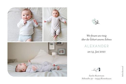 Geburtskarten Süße träume blau - Seite 2