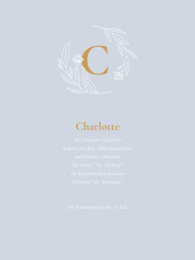 Poster klein Lilie gelb - Seite 1